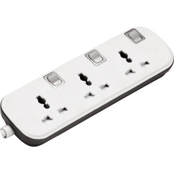 Three individual power control power strip